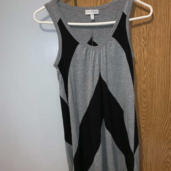 Fashion Bug Dresses & Skirts - Black/grey summer dress